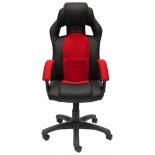 игровое компьютерное кресло TetChair Драйвер, черное/красное