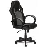 игровое компьютерное кресло TetChair Рейсер GТ, черное/серое