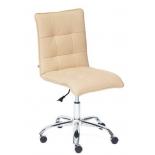кресло офисное TetChair ZERO кож/зам, бежевый, 36-34