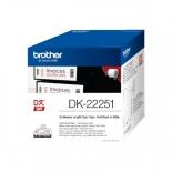 лента для печати наклеек Brother DK22251