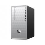 фирменный компьютер HP Pavilion 590-p0008ur 4GM45EA (Core i3-8100/8Gb/1000Gb/DVD-RW/NVIDIA GeForce GTX1060 6Gb/Wi-Fi/Bluetooth/Win 10 Home 64), серебристый