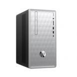фирменный компьютер HP Pavilion 590-p0010ur 4GL62EA (Core i5-8400/8Gb/1000Gb HDD+SSD-кэш/DVD-RW/NVIDIA GeForce GTX1050Ti 4Gb/Wi-Fi/Bluetooth/Win 10 Home 64), серебристый