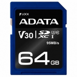 карта памяти A-DATA 64GB ( ASDX64GUI3V30S-R)