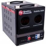 Стабилизатор напряжения Quattro Elementi Stabilia 3000 (3кВт)