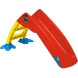 игровой комплекс Горка PalPlay Пеликан 607, желто-красно-синяя