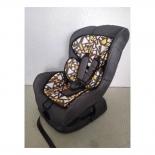автокресло детское Liko Baby 303 C 0-1 (0-18кг), Черный/Мозайка