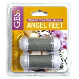насадка для роликовой пилки комплект роликов GESS-603K для Gess Angel Feet