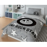 комплект постельного белья Disney ранфорс, 1,5- спальный, Rock star
