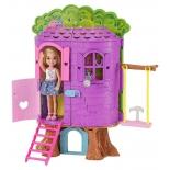 кукла Игровой набор Barbie Домик на дереве Челси