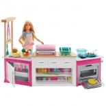 кукла с кухней Mattel Barbie FRH73 Барби