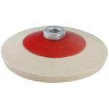 насадка шлифовальная Hammer Flex 227-024 PD M14 FL (125x2мм),  диск полировальный