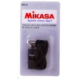 свисток Mikasa WH-2B черный, с шариком