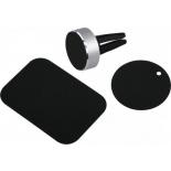 держатель/подставка для телефона Hama Magnet Alu (00173765), серебристый