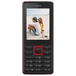 сотовый телефон Irbis SF12, черный/красный