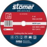 диск отрезной Stomer CD-230, по металлу