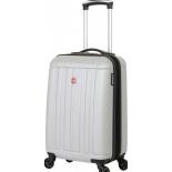чемодан Wenger Uster, серебристый 37 л