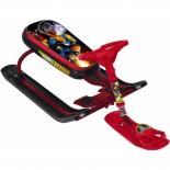 снегокат Nika Тимка спорт 5 с роботом, бордовый