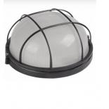Светильник настенный Iek НПП1302, черный/круг с реш., купить за 600руб.