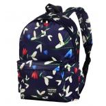 рюкзак городской Nosimoe 8302-04 крокус - синий
