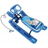 снегокат Nika Тимка спорт 1 кролик, синий каркас