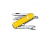 нож перочинный Victorinox  Classic SD, 58 мм, 7 функций, жёлтый