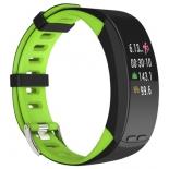 фитнес-браслет Qumann QSB X зеленый+черный