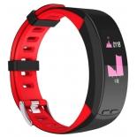 фитнес-браслет Qumann QSB X красный+черный