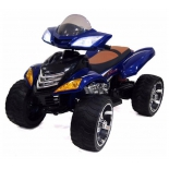 электромобиль квадроцикл RiverToys Moto Е005КХ, синий