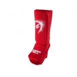 защита голени Green Hill  SIC-6131, XS, красный