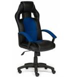 компьютерное кресло Tetchair DRIVER 36-6/10, черный/синий