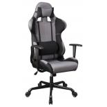 игровое компьютерное кресло Бюрократ 771 серо-черное