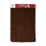 коврик для ванной Vortex Spa comfort, коричневый