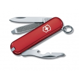 нож перочинный Victorinox Rally, 58 мм, 9 функций, нержавеющая сталь (0.6163) красный
