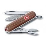 нож перочинный Victorinox Classic, 58 мм, 7 функций, (0.6223.842) шоколад
