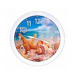 часы интерьерные Вега Ракушки на пляже, П 1-7/7-222 (настенные)