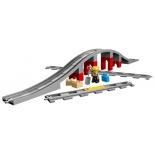 конструктор LEGO Duplo Town 10872 Железнодорожный мост