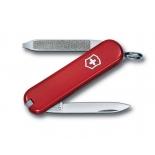 нож перочинный Victorinox Escort (58 мм, 6 функций),  красный