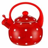 чайник для плиты Zeidan Z-4115-01 (2,5 л) со свистком