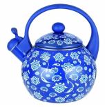 чайник для плиты Zeidan Z-4153-01 (2,5 л, со свистком), синий