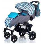 коляска Babyhit Travel Air, серо-синяя