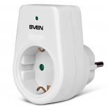 сетевой фильтр SVEN UNO (1 розетка, 3600 Вт), белый