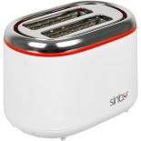 тостер Sinbo ST-2420, белый/красный