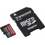 карта памяти Transcend TS128GUSDU1 + adapter
