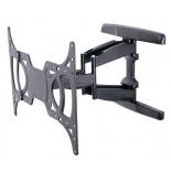кронштейн Tuarex OLIMP-8001 (15-55'', до 45 кг, наклон, поворот), чёрный