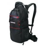рюкзак спортивный Wenger 13022215 22 л, чёрный/красный