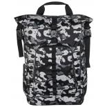 рюкзак городской для ноутбука Hama Roll-Top 15.6 grey/camouflage