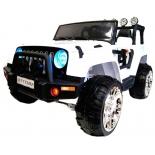 электромобиль RiverToys Jeep M777MM 4-4, белый