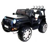 электромобиль RiverToys Jeep M777MM 4-4, черный