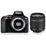цифровой фотоаппарат Nikon D3500 kit (18-55mm non VR AF-P), черный