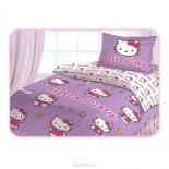 комплект постельного белья Hello Kitty 1,5-спальный, наволочка 50/70, ранфорс